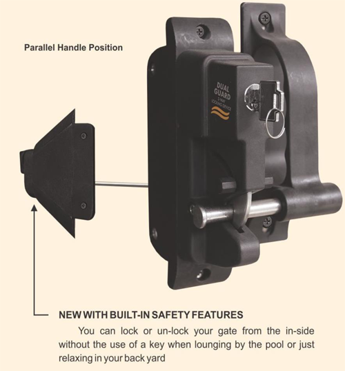 Superior 2 Way Locking Latch